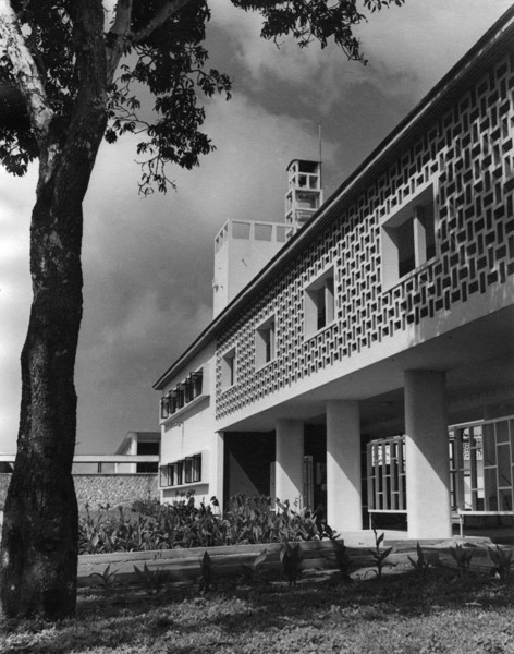 Picture of Aburi Girls' School and Teacher Training College, Aburi: the main entrance to the complex from the east