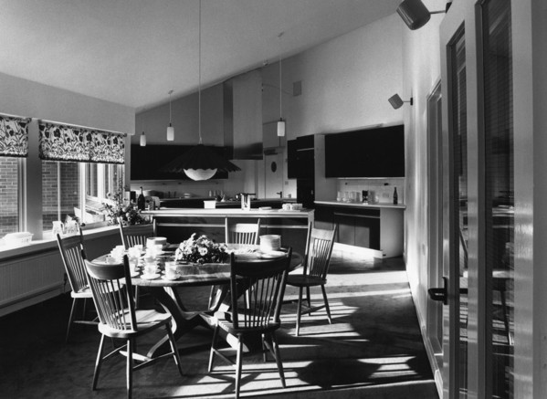 Picture of Helen House Hospice for children and young adults, Magdalen Road, Oxford: the open-plan kitchen / breakfast room