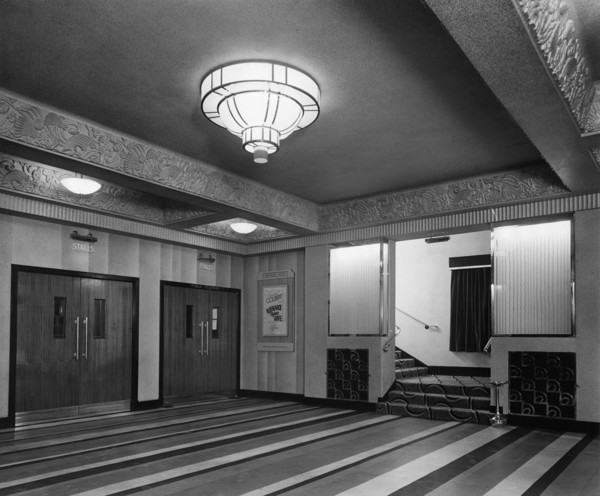 Picture of ABC Regal cinema, Bridlington, East Riding of Yorkshire: the entrance foyer