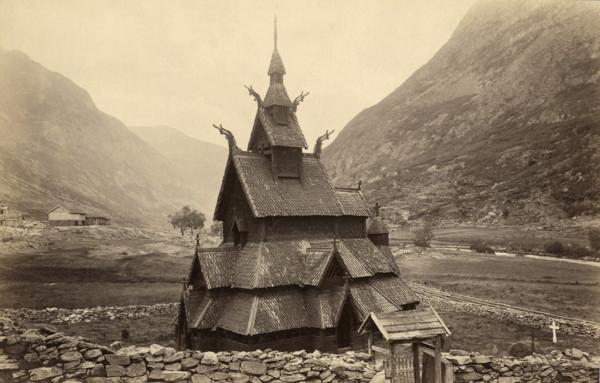 Picture of Borgund stave church, Laedal