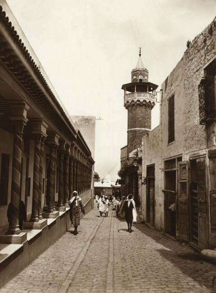 Picture of Backstreet in the Kasbah, Tunis