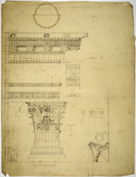 Picture of Measured drawings of orders: the Corinthian order