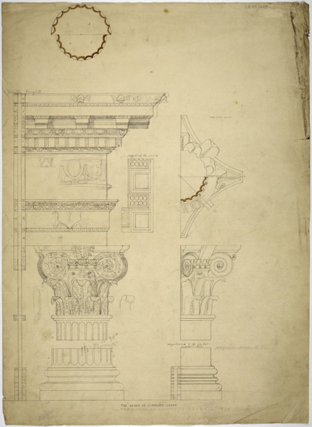 Picture of Measured drawings of orders: the Roman or Composite order
