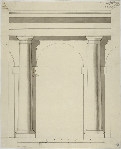Picture of Measured drawings of details of the Tuscan order