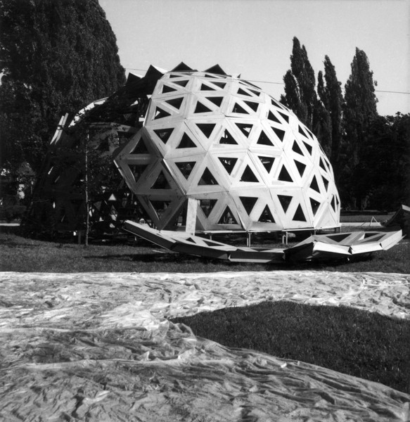 Picture of Geodesic dome, Parco Sempione, X Triennale, Milan