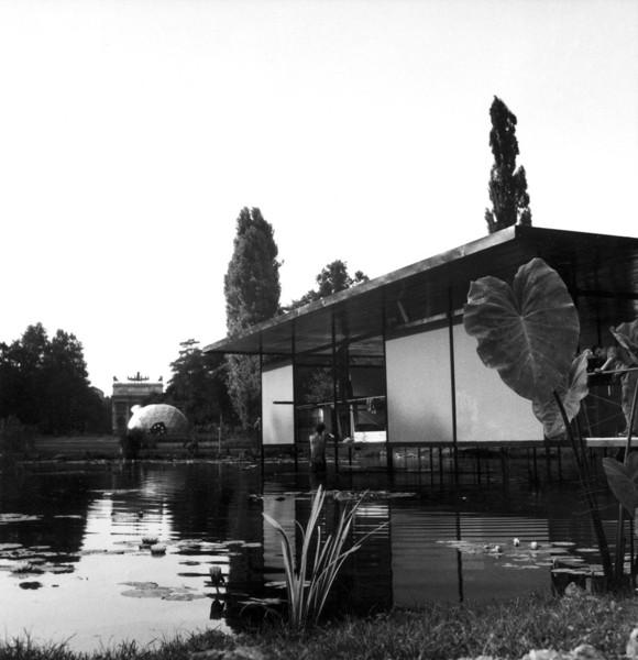 Picture of Finmeccanica Pavilion, Parco Sempione, X Triennale, Milan