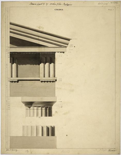 Picture of Quadruple portico, Cnidus (Knidos): the Doric order
