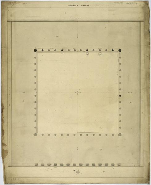 Picture of Agora, Cnidus (Knidos): the plan