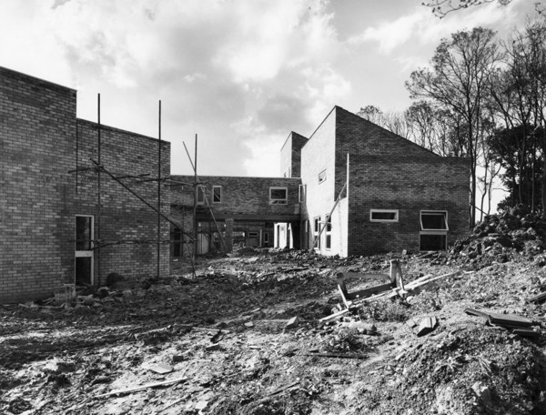 Picture of Housing, Sower Leys, Corby New Town, Northamptonshire, under construction