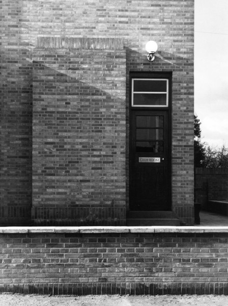 Picture of Adam & Eve public house, Uxbridge Road, Hayes, London: the club room entrance