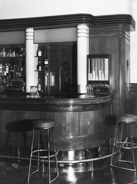 Picture of Adam & Eve public house, Uxbridge Road, Hayes, London: a corner of the bar