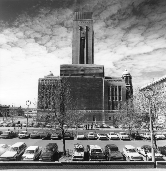 Picture of George's Dock Ventilation and Control TowerTunnel, Pier Head, Liverpool