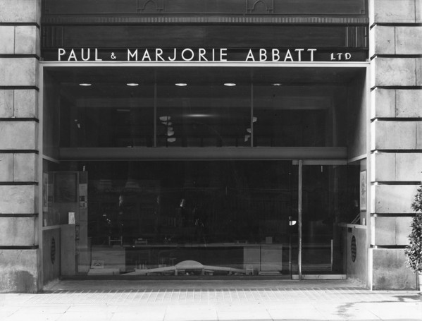 Picture of Paul and Marjorie Abbatt toy shop, 94 Wimpole Street, Westminster, London: the shop front
