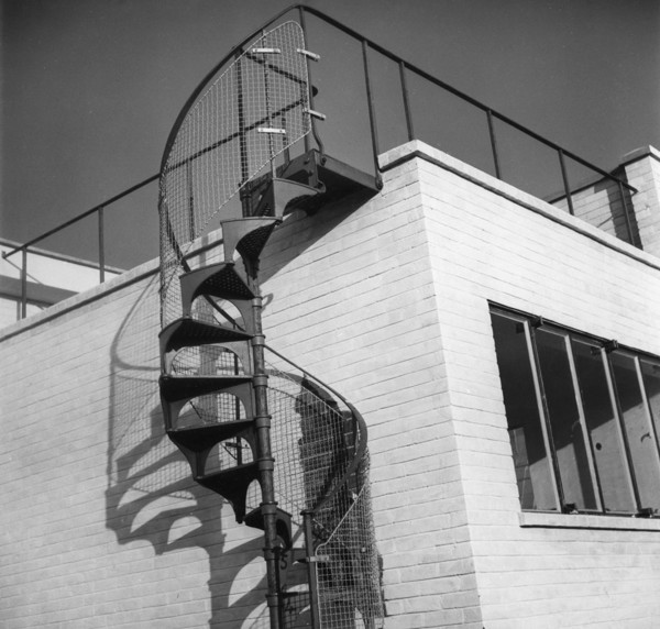 Picture of House at Walberswick, Suffolk: the spiral staircase to the roof terrace