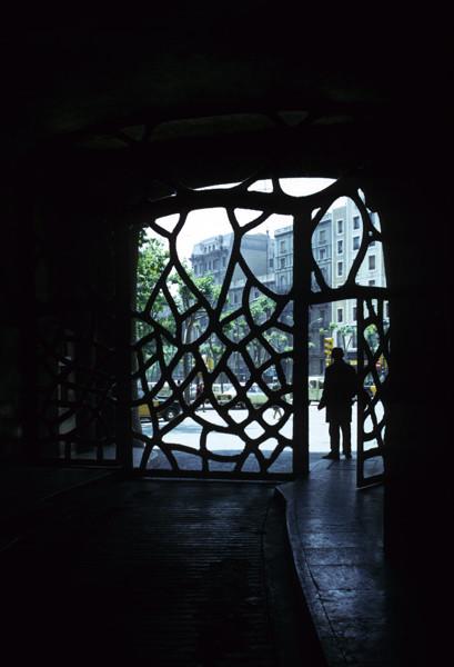 Picture of Casa Mila (La Pedrera), 92 Passeig de Gracia, Barcelona: the entrance gates