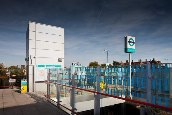 Picture of Abbey Road DLR Station, West Ham, London