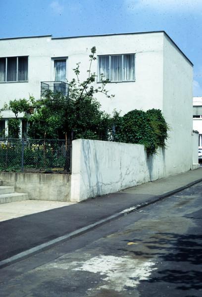 Picture of Row houses 5, 6, 7, 8, 9, Weissenhofsiedlung, Stuttgart