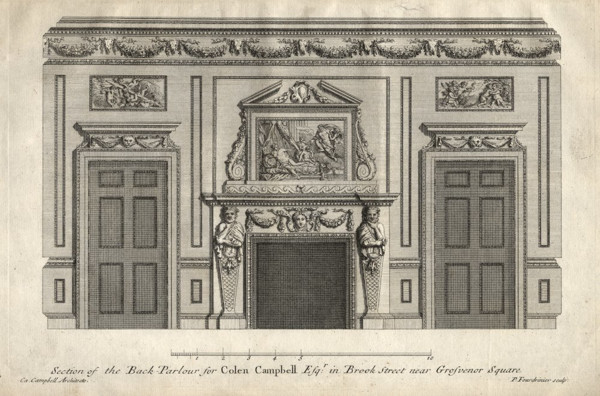 Picture of 76 Brook Street, London: the back parlour
