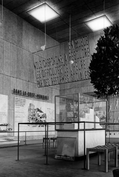 Picture of Swedish Pavilion, Exposition Internationale des Arts et Techniques dans la Vie Moderne, Paris 1937