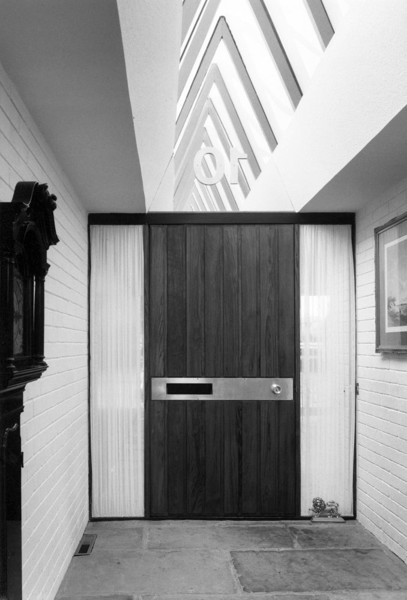 Picture of Architect's house, 10 Regent Avenue, Lytham, Lytham St Anne's, Lancashire: the front door and entrance hall