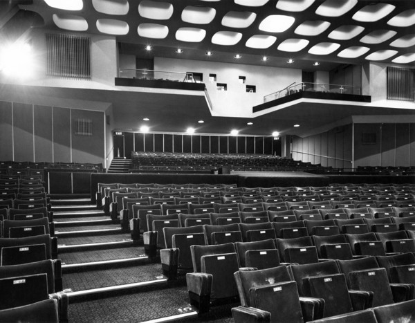 Picture of Curzon Mayfair cinema, Curzon Street, Mayfair, London: the auditorium
