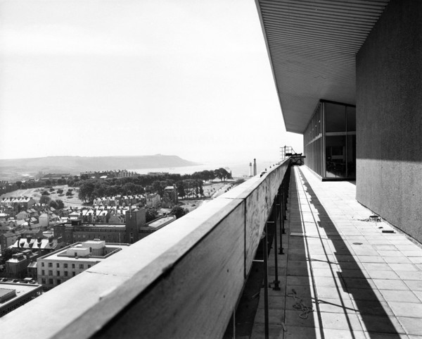 Picture of Civic Centre, Princess Street, Plymouth: the roof terrace of the tall building