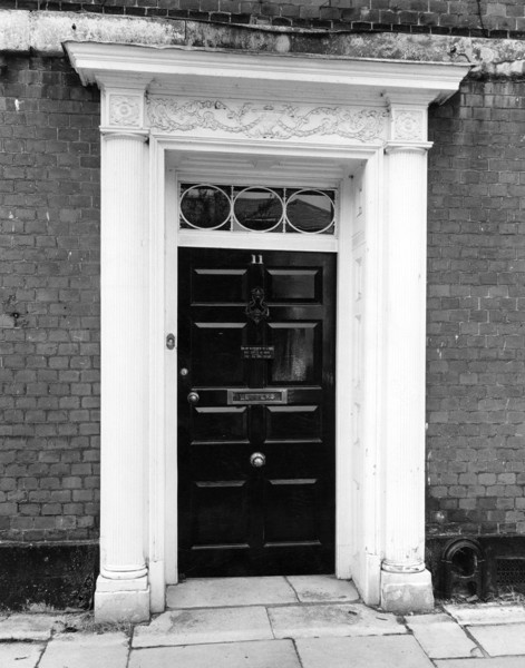 Picture of 11 The Close, Salisbury: detail of doorcase