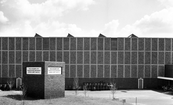 Picture of Headquarters for Gilbey's gin, Harlow, Essex: the warehouse