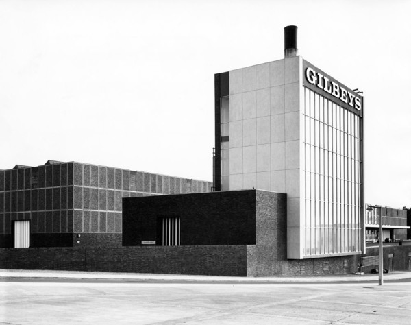 Picture of Headquarters for Gilbey's gin, Harlow, Essex: the distillery and warehouse
