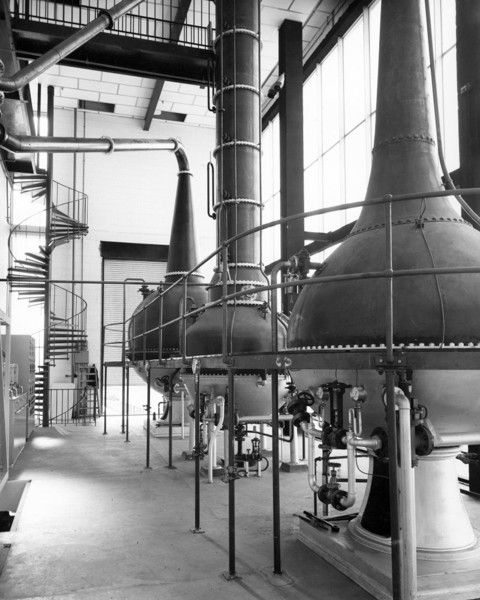 Picture of Headquarters for Gilbey's gin, Harlow, Essex: the distillery