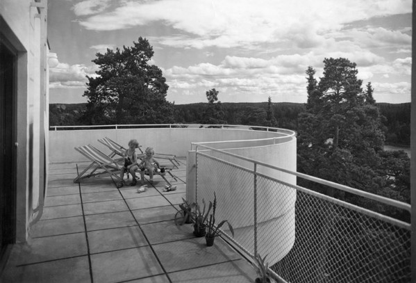 Picture of House, Nockeby: the sun balcony