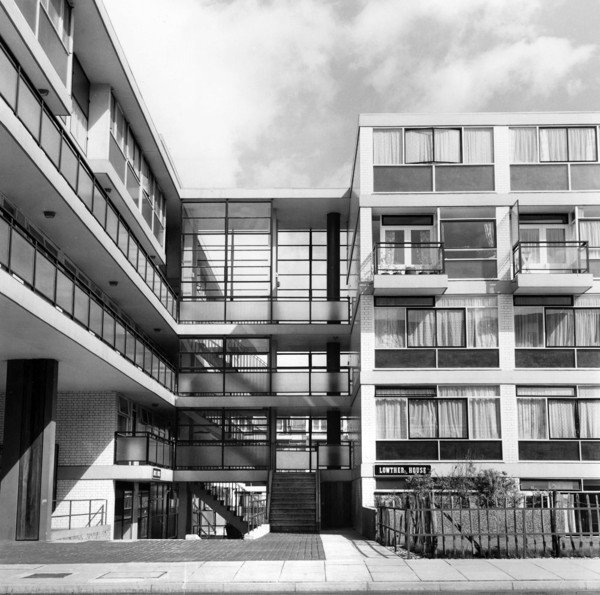 Picture of Churchill Gardens Estate, Pimlico, London: Lowther House, Phase IV