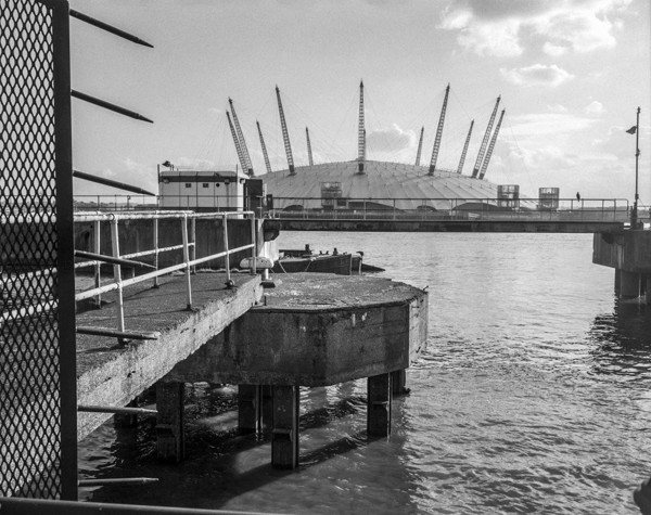 Picture of Millennium Dome (02 Arena), Greenwich, London, seen from the north bank